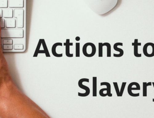 Summer Actions to End Slavery
